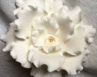 Maui custom clay flowers by hawaiiansandbox on etsy hawaii flowerscustom clay artistryhawaiian bridal deluxe couturemade to order mightylinksfo Image collections