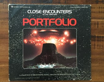 "1977 Close Encounters of the Third Kind Portfolio/ Complete!/ All 18 Color Prints of Breathtaking Scenes!/ Prints measure: 12"" x 11"""