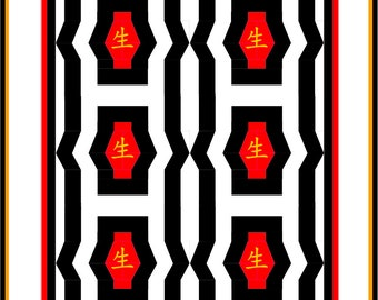Chinese Lantern Quilt Pattern