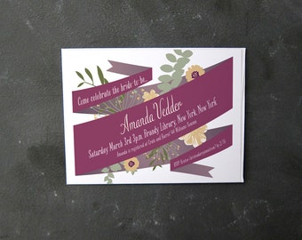 Ribbon Invitation