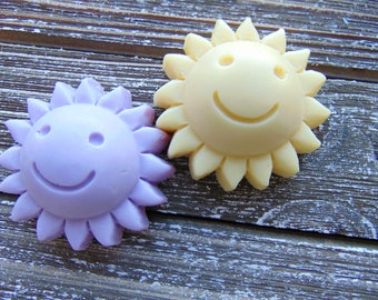 10 Sunshine soap favors