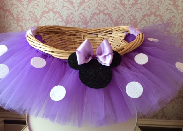 Large minnie mouse themed tutu basket birthday tutu gift zoom negle Image collections