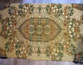 Authentic silk Arab graphics Authentic silk Arabic graphics tablecloth tablecloth