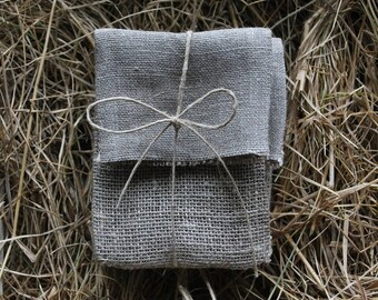 Set of 5-25 USB packaging natural linen pouches.Linen envelopes. Favor /gift/candy  bags. Wedding favors. Baby Shower Christening.