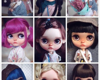 Works show of custom blythe blythecustom doll by qdsy