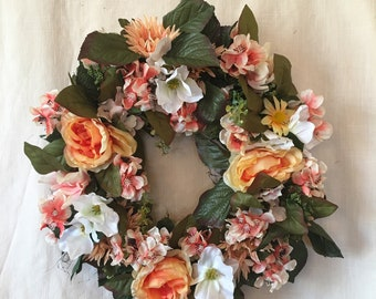 Spring Wreaths - Spring Wreaths for Front Door - Summer Wreaths - Spring Wreaths - Summer Wreaths for Front Door - Spring Door Wreaths