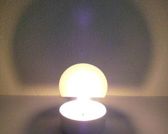 """TWILIGHT """"Designklassiker"""", Windlicht, Lampe mit Schattenspiel"""
