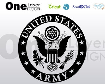 United States Army SVG - PNG - PDF File, t-shirt Svg, svg -Vector art Commercial & Personal Use- Cricut,Silhouette,Cameo,Iron