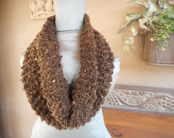 Hand Knit Cowl    Cowl  Cowls