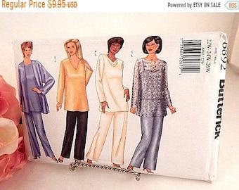 Womens Dress Jacket Pants Sewing Pattern Uncut Butterick 6892  Plus Size Full Figure Sz 22-26 Eveningwear DIY Apparel