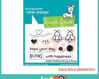 Lawn Fawn Clear Stamp Set - Lights Out