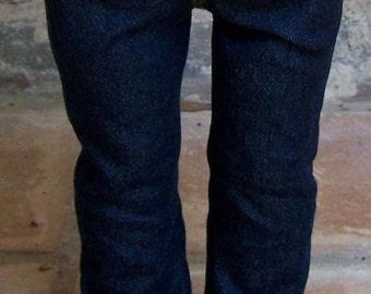 Dark Wash Denim Straight Leg Jeans for 18 inch dolls