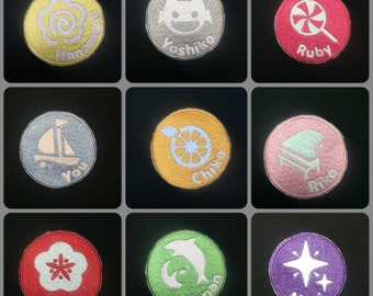 Love Live Sunshine Aqours Character Symbols