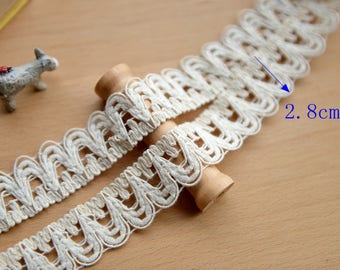 Crochet Lace Ribbon Lace Trim Crochet Ribbon Crochet Trim White Lace Ribbon Crochet Lace Trim Embellishment Wedding Lace Crocheted Lace