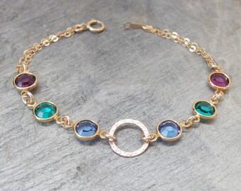 Mother day gift Mother bracelet Family bracelet Grandma bracelet  Birthstone bracelet Personalized bracelet Personalized birthstone bracelet
