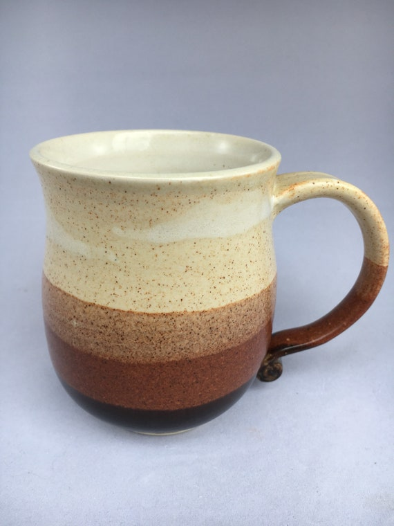 Earth-toned Coffee Cup