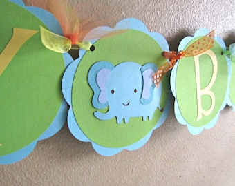 Jungle Party Happy Birthday Banner, Jungle Birthday Banner, Safari Party Banner, Safari Birthday Banner, Jungle Baby Shower, Safari Shower