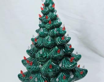 Ceramic Christmas Tree just like Grandma's!