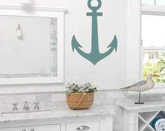 Anchor Wall Art Vinyl Wall Decal