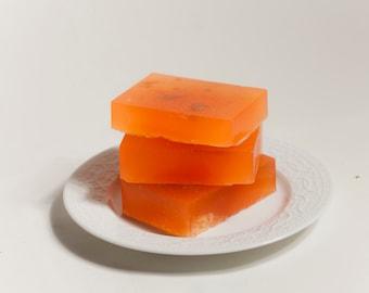 Orange and Brown Sugar Soap - 2 bars