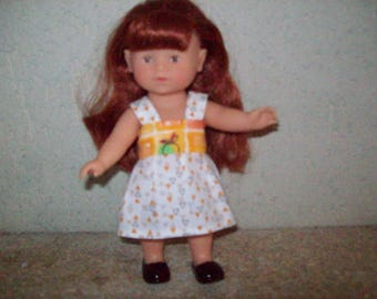 20 cm:type corolline doll dress, cotton print dress