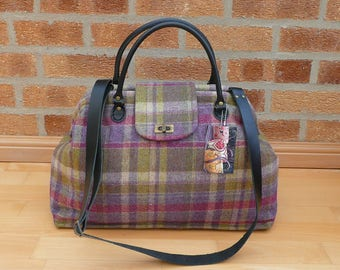 Diaper Bag, Overnight bags, Carpet Bag, Large day bag, large tote, Mary Poppins Bag, tweed bag, luggage and travel