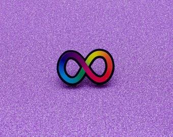 Autistic Neurodiversity Infinity Spectrum PIN