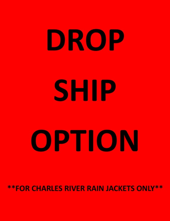 Drop Ship My Rain Jacket