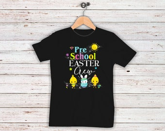 Easter teacher shirt etsy easter teacher shirt adorable pre school crew ladies women men short sleeve negle Images