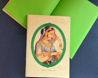 Colourful notebooks with Indian Queen design