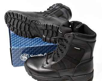 Smith & Wesson Waterproof Tactical Side Zip Boots
