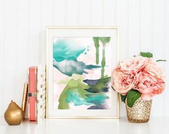 Modern Abstract Art Printable Art Print, Modern Nursery Decor, Modern Art Printable, Modern Minimalist Art, Home Office Decor, 8x10, #6