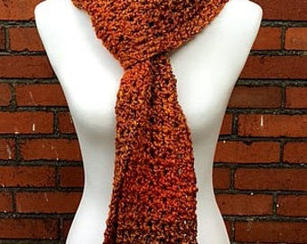 Fall Colors Long Scarf