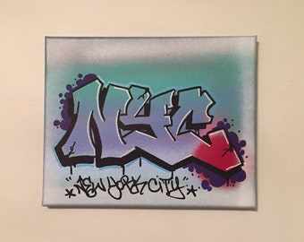 NYC Graffiti, Graffiti Art, Graffiti Art Gifts, NYC Subway Art, Street Art Gifts, NYC Graffiti Art Canvas, Graffiti Gifts, Graffiti Artwork,