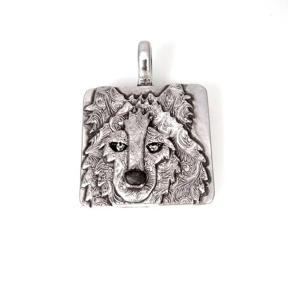 Wolf totem necklace - photo#40