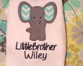 Elephant Little Brother Gown
