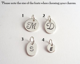 Add a Personalized Initial Charm - 925 Sterling Silver