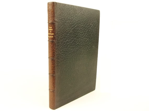 1919 1st edition, Siegfried Sassoon War Poems. In fine binding by Riviere & Son.
