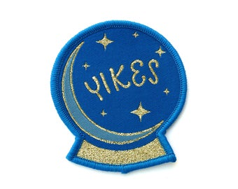 Yikes Crystal Ball Patch