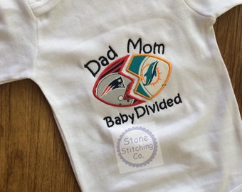 Baby Divided clothing, House Divided Bodysuit, Rivalry Bodysuit