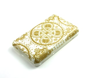 Gold Celtic Knot iPod Classic Hard Cover Shell Case 80/120/160 GB 6th 7th generation/iPod touch 5