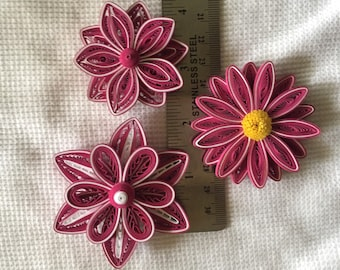Quilled flowers etsy paper quilled flowers mightylinksfo