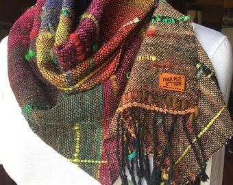 Saori Handwoven Wrap / Scarf
