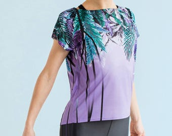 Rain Forest - oversized workout top