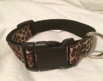 Animal print Dog Collar