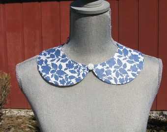 Detachable Peter Pan Collar - Removable Collar - One of a kind