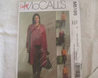 easy jacket and pants unlined pattern size 32 34 36 38 40 42