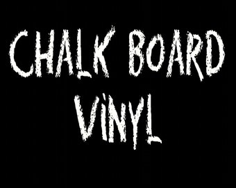 1 Sheet of Chalkboard vinyl Chalkboard Vinyl Decals, DIY Wedding Chalkboards, DIY Chalkboard Labels, Wall art,