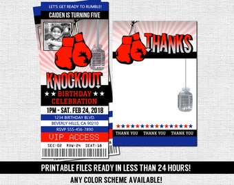 VOLLEYBALL TICKET INVITATIONS Birthday Party print your