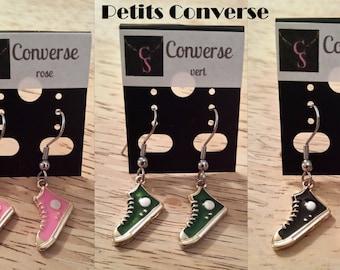 Converse running shoe earring small / small Converse sneaker earrings